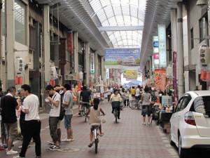 岸和田駅前通商店街