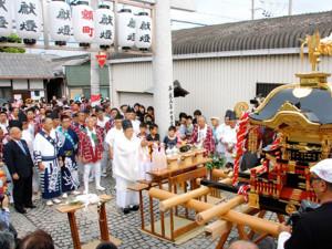 積川神社遥拝鳥居