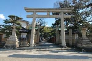 岸和田、旅行、神社